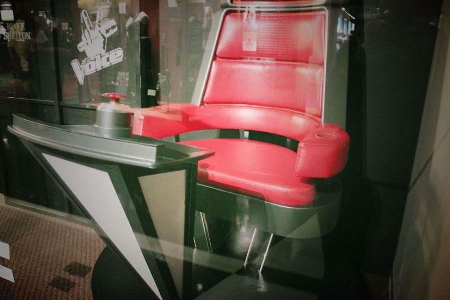 Blake Shelton's Voice Chair
