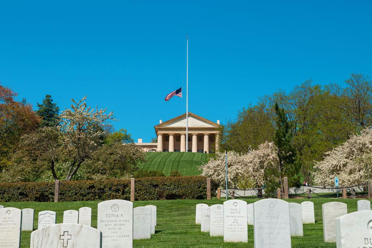 Visit the Kennedy Family Gravesite