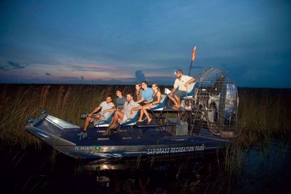 A Nighttime Airboat Adventure