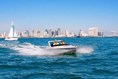 San Diego Speed Boat Adventure Tour