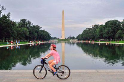 The Washington DC Monuments Bike Tour