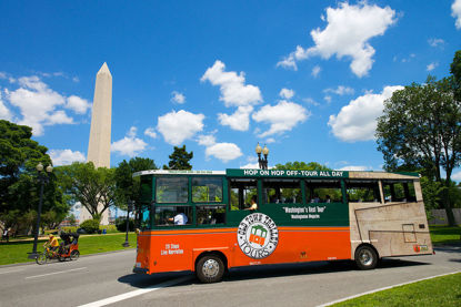Old Town Trolley City Tour of DC Silver Pass