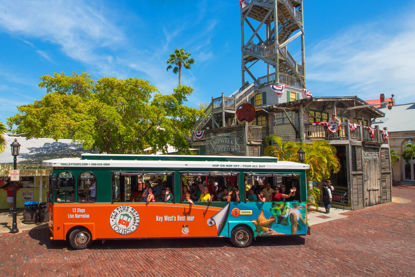 Old Town Trolley Tours-Truman White House and Shipwreck Pk